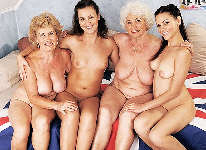 Old-Young Orgy part 2