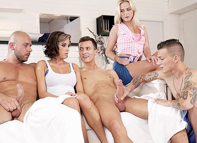 Spa Orgies
