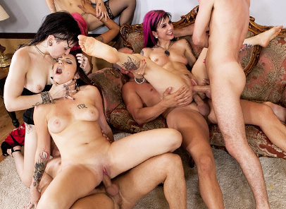 An Orgy For A Good Cause